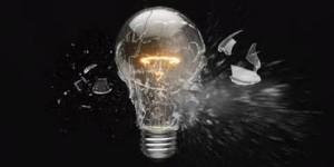 bulb shattering